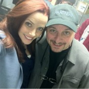 Annie Wersching and Partners director Yves Simoneau