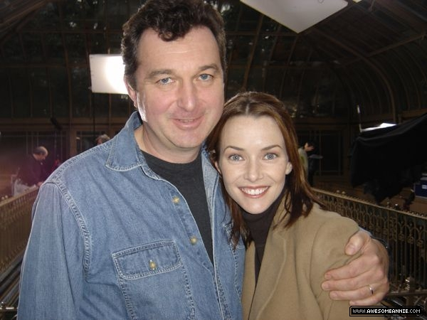 Annie Wersching with director Charles Beeson