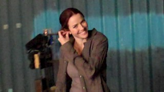 Annie Wersching 24 Season 8 Episode 13 BTS