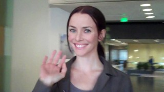 Annie Wersching Behind the Scenes of 24 Season 8 Episode 15