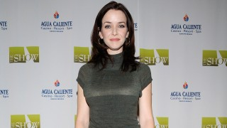 Annie Wersching at Agua Caliente Resort