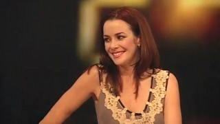 Annie Wersching on BBC Breakfast Chat - January 2009