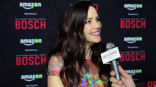 Annie Wersching Bosch S2 Red Carpet Interview
