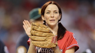 Annie Wersching Celebrity Softball 2009