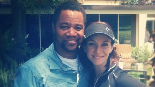 Annie Wersching and Cuba Gooding Jr.