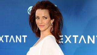 Annie Wersching at premiere of Extant in Los Angeles