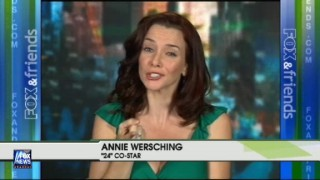 Annie Wersching on FOX News May 2009
