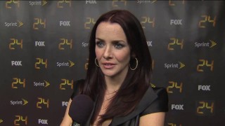 Annie Wersching talks with FOX Source at 24 Season 8 Screening