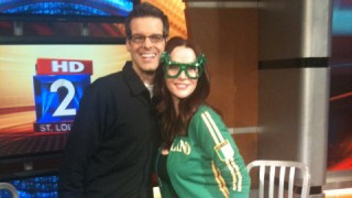 Annie Wersching and Tim Ezell FOX 2 News St. Louis