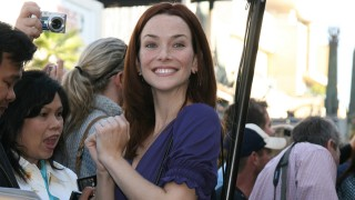 Annie Wersching at Hollywood Walk of Fame in 2008