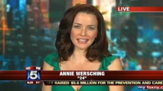 Annie Wersching interviewed on Good Day NY - May 2009