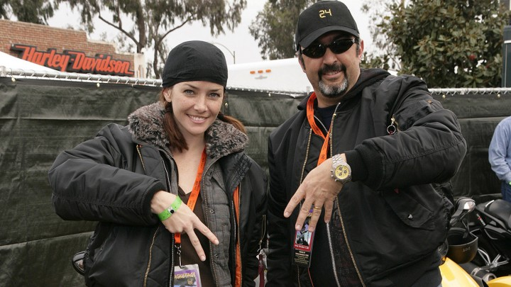 Annie Wersching and Jon Cassar at the Can-Am Spyder 24th Annual Love Ride in Los Angeles