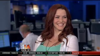 Annie Wersching KTTV March 27 2013