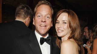 Annie Wersching and Kiefer Sutherland at 59th Annual Emmy Awards