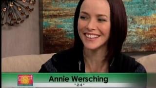 Annie Wersching Stephen Full FOX23 Interview