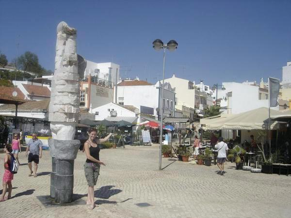 Annie Wersching in Portugal