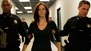 Renee Walker Escorted by Security in 24 Season 7 Episode 14