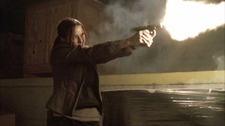 Renee Walker Fires Gun 24 Season 8 Episode 14