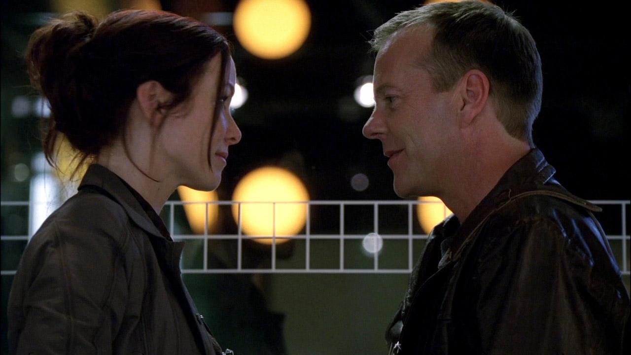 Renee Walker and Jack Bauer reunite