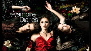 The Vampire Diaries logo key art CW TV series