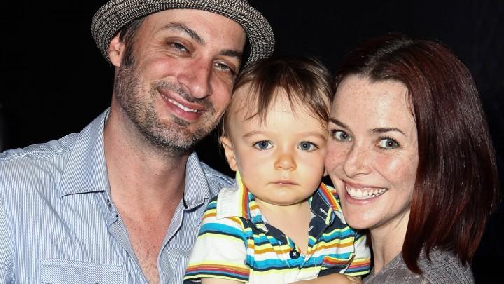 Annie Wersching with husband Stephen Full and son Freddie