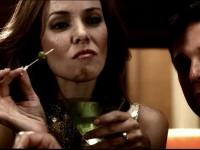 Annie Wersching in Cold Case - Drinking