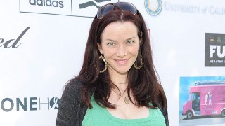 Pregnant Annie Wersching at Hack n' Smack 2010