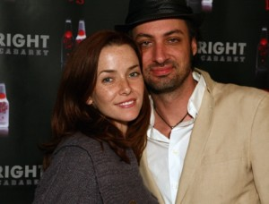 Annie Wersching and husband Stephen Full