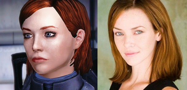 Annie Wersching as female Shepard for Mass Effect movie