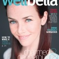 Annie Wersching on cover of WellBella health Magazine