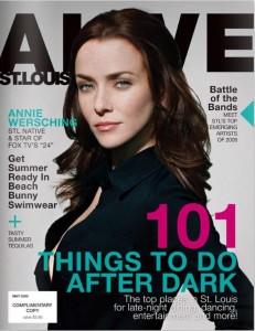 Annie Wersching in ALIVE St. Louis Magazine May 2009