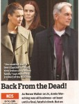 Annie Wersching in TV Guide December 2010 - NCIS article
