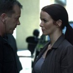 Annie Wersching and Kiefer Sutherland in 24
